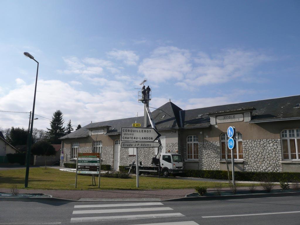Condensation Gaz Oertli à Corquilleroy - 45 Loiret