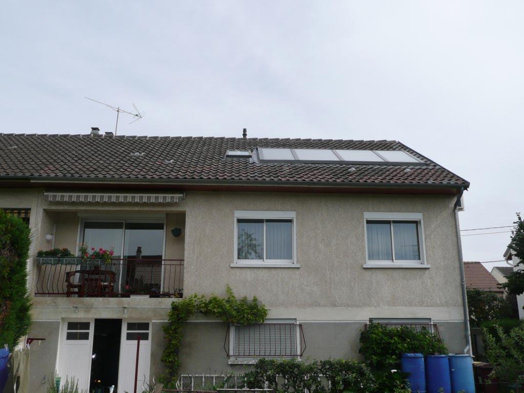 Système solaire Rotex à Chelles - 77 Seine et Marne