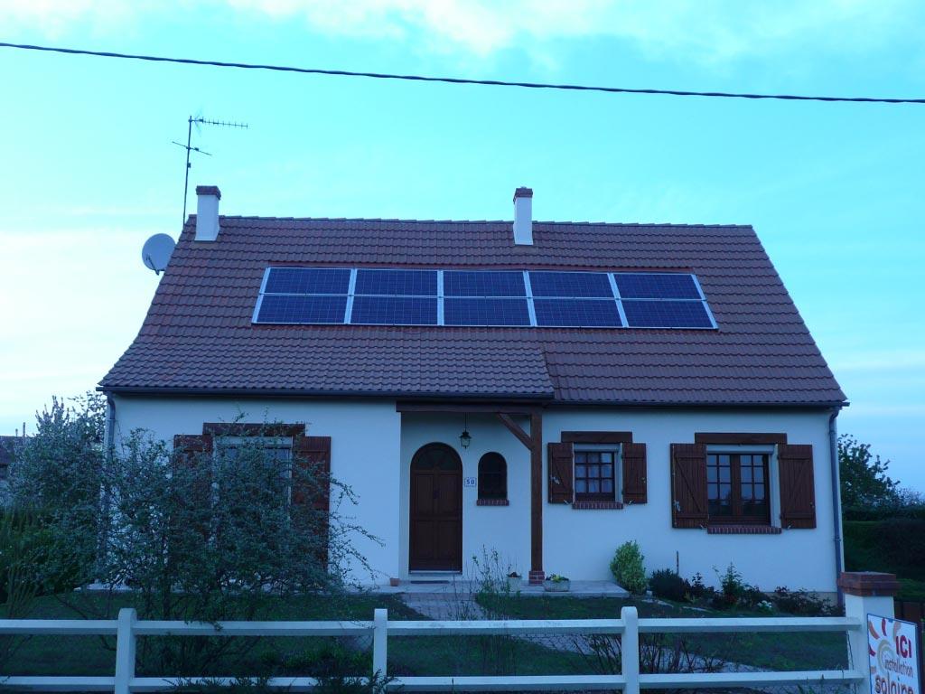 Système photovoltaïque à  Coruilleroy - 45 Loiret-Loiret (45)