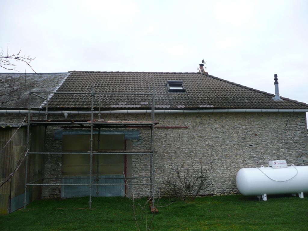 Condensation Gaz Rotex à Mignères - 45 Loiret-Loiret (45)