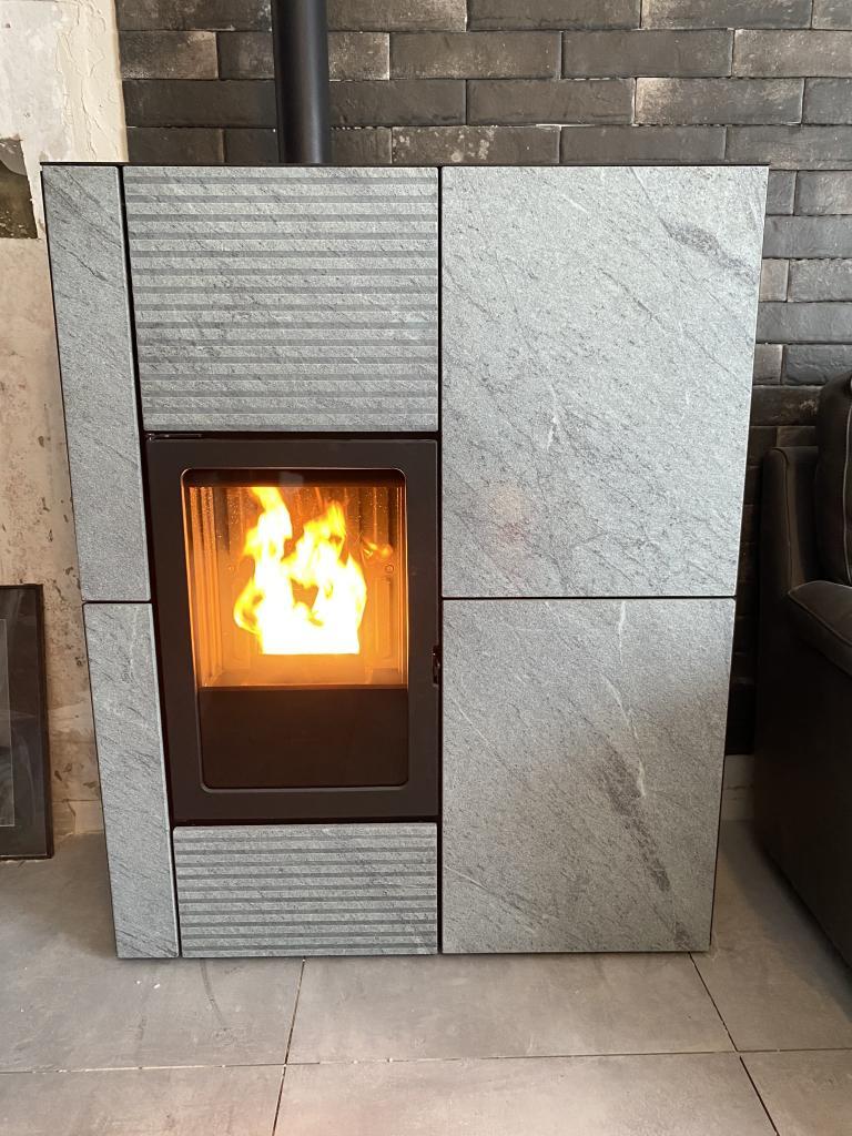 Poêle granulé edilkamin Sarthe  12kw blade pierre ollaire-Sarthe (72)