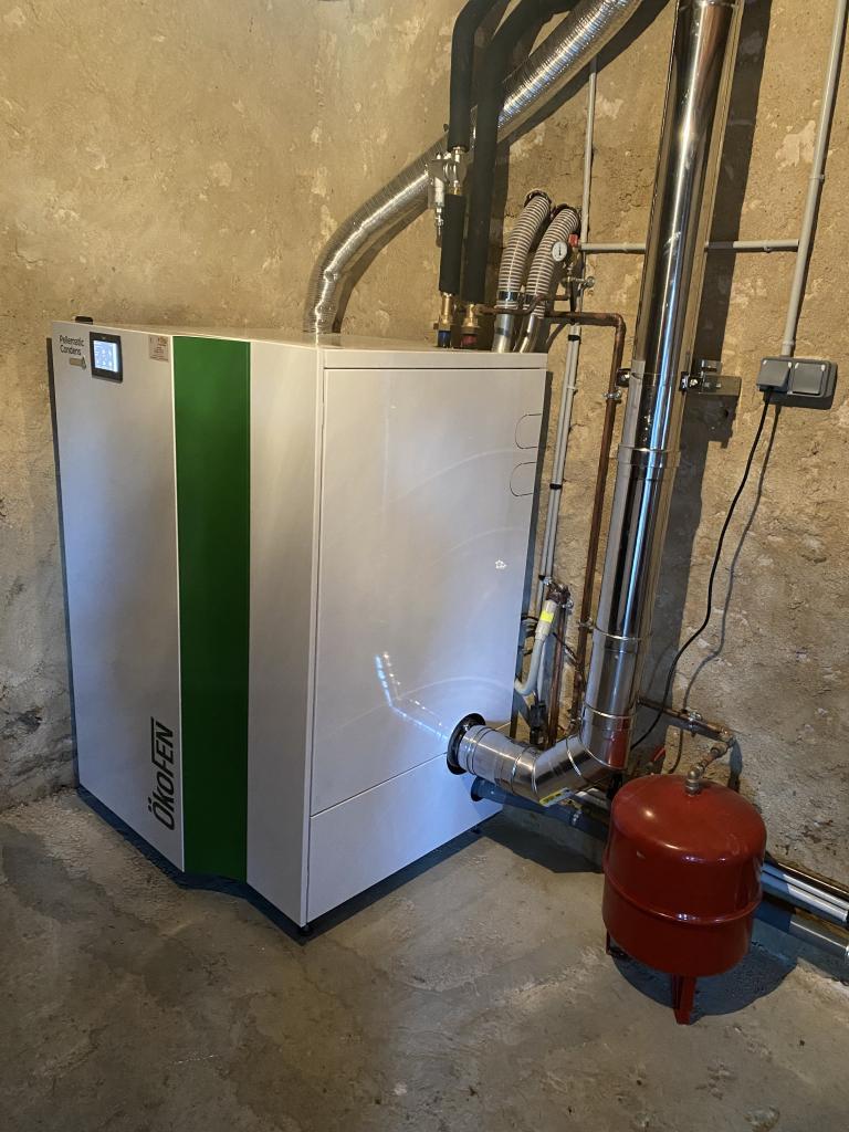 chaudière granulé condensation 18kw Sarthe 72