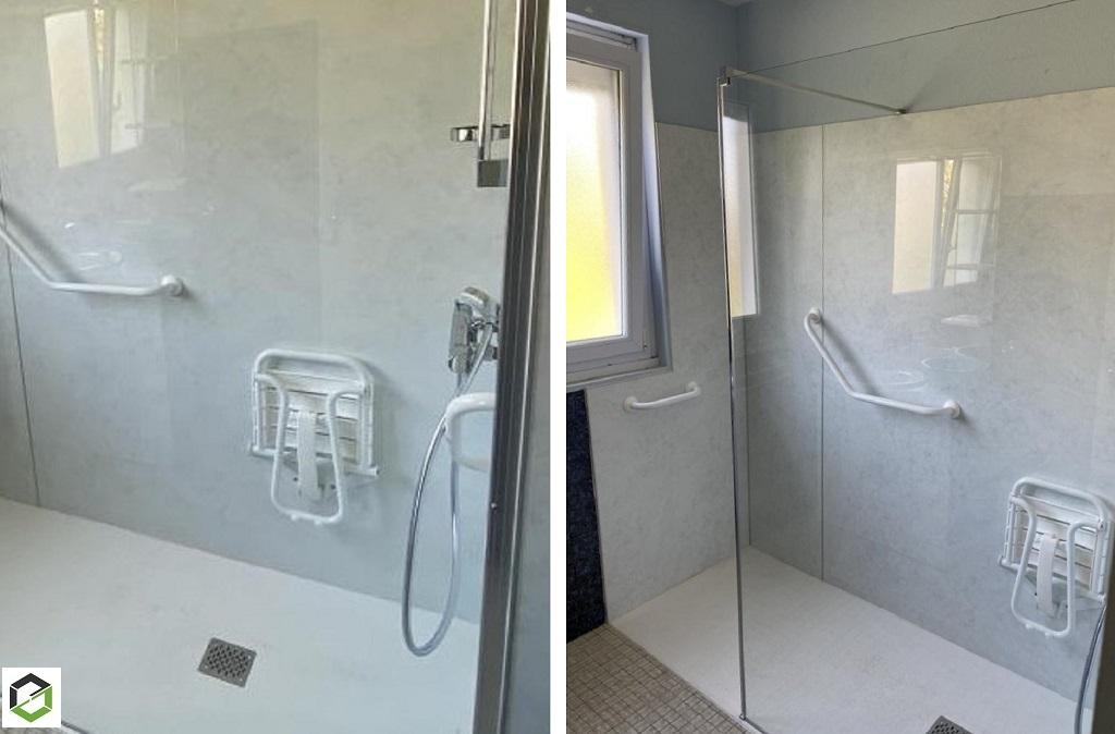 Rénovation - réalisation d'une salle de bain
