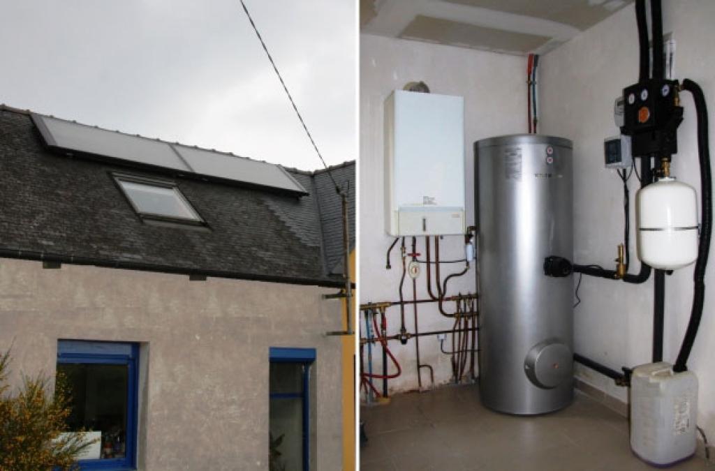 Installation d'un Chauffe-eau solaire Viessmann par installateur agrée RGE Qualisol