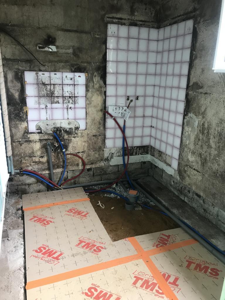 Rénovation d'une salle de bain pour personne à mobilité réduite