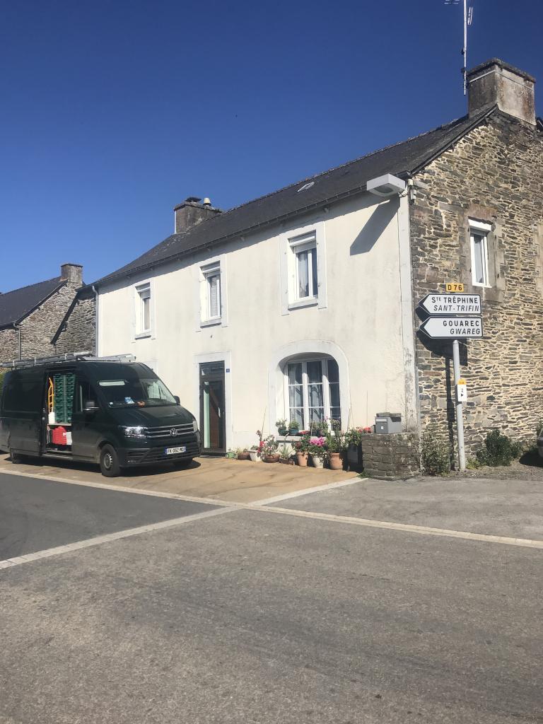 Changement de chaudière fioul par une chaudière à pellets ÖkoFen dans le centre Bretagne