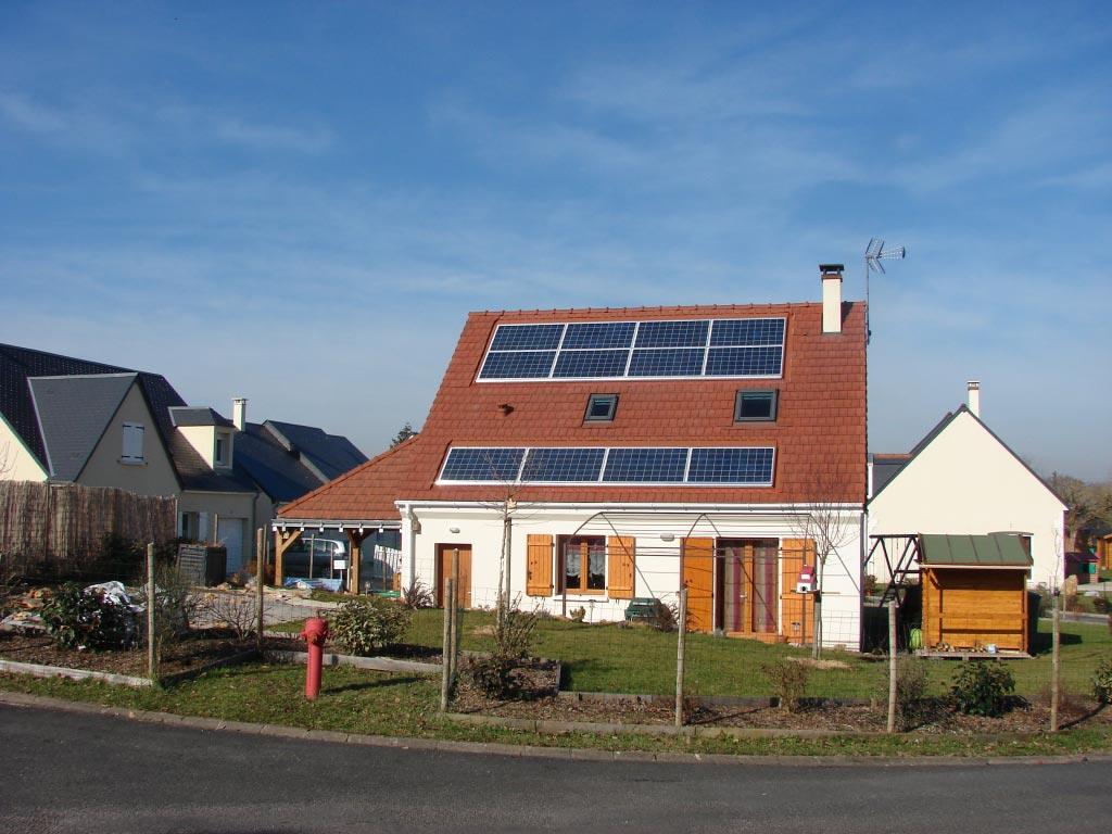 Solaire Photovoltaïque à Montbazon - 37 Indre et Loire