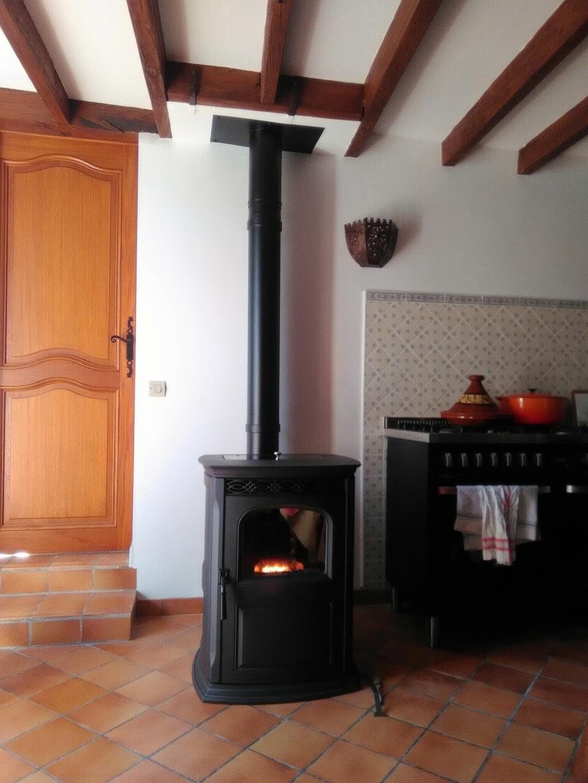 Poêle à granulés de bois HARMAN à Monteaux, Loir et cher (41)