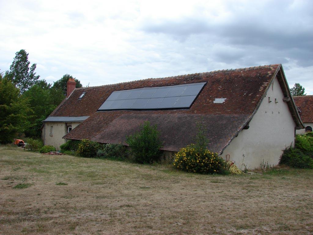 Solaire Photovoltaïque à Neuillé Le Lierre - 37 Indre et Loire-Indre et Loire (37)