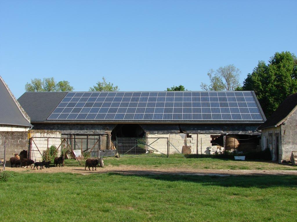 Production Photovoltaïque à Villandry - 37 Indre et Loire-Indre et Loire (37)