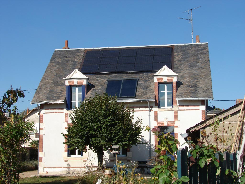 Chauffe-eau solaire à Onzain, 41 Loire t Cher