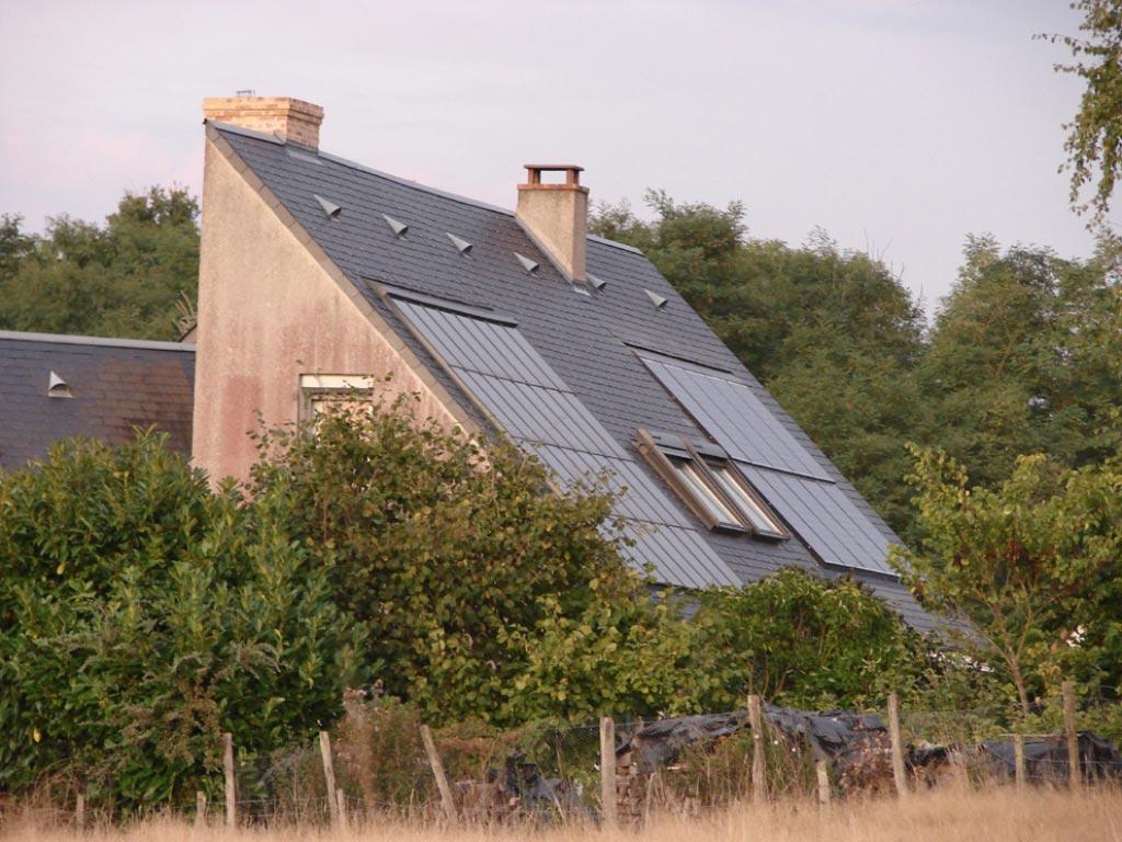 Chauffage solaire à Candé sur Beuvron, 41 Loir et Cher