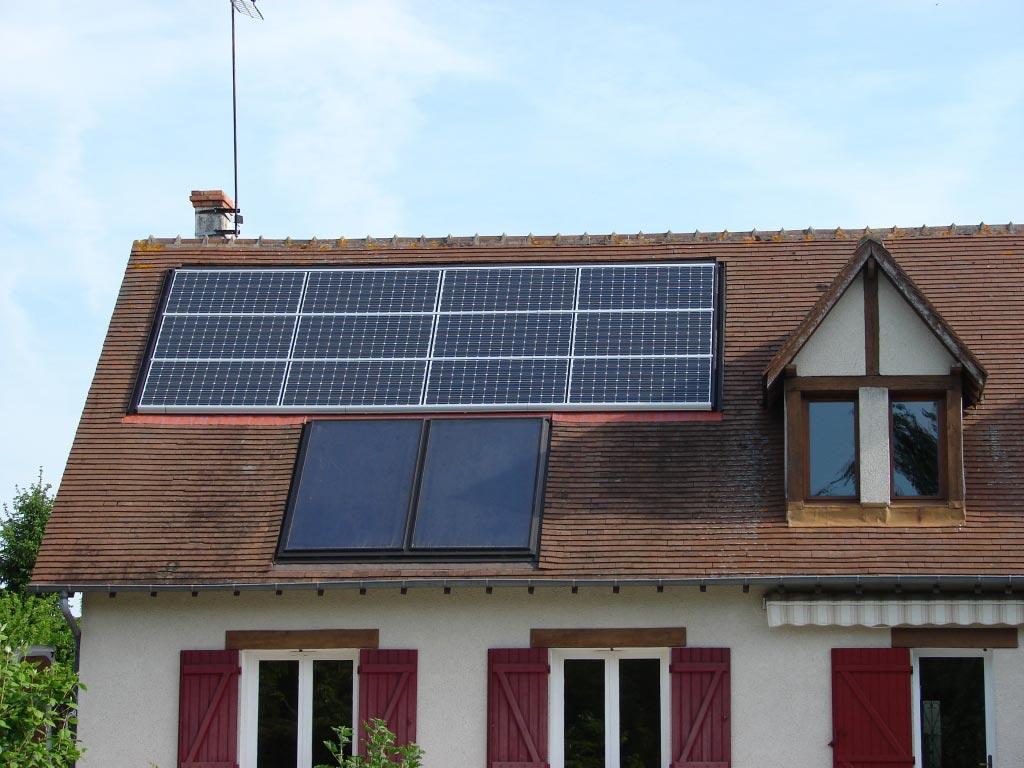 Générateur Photovoltaïque à St Sulpice de Pommeray - 41 Loir et Cher-Loir et Cher (41)