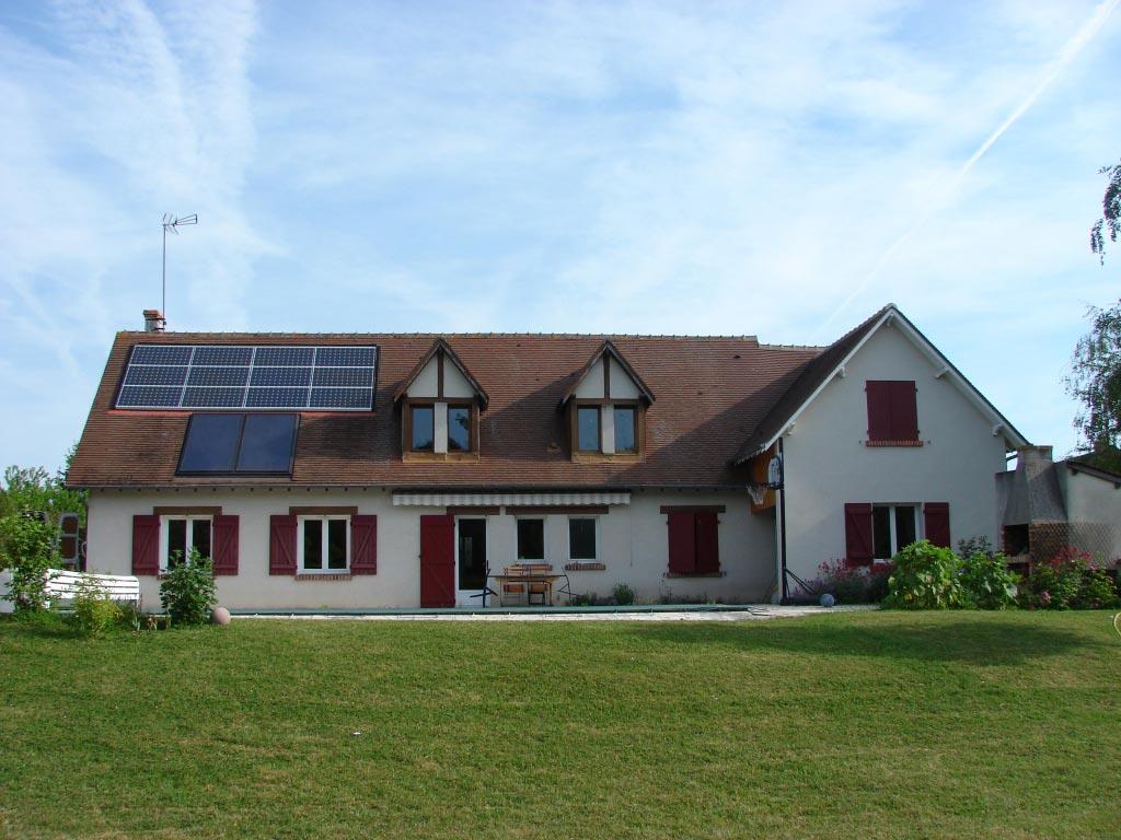 Chauffe-eau solaire à Saint Sulpice de Pommeray, 41 Loir et Cher