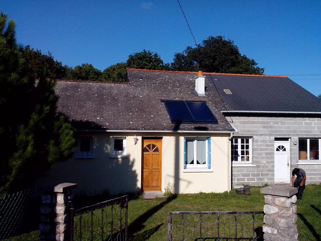 Chauffe-eau solaire à Dame Marie les Bois, 37 Indre et Loire