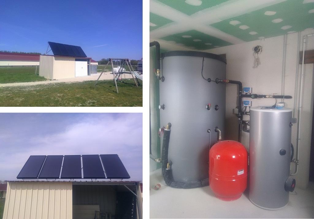 ETS HELIOSOLIS - Chauffage et eau chaude solaire à BILLY