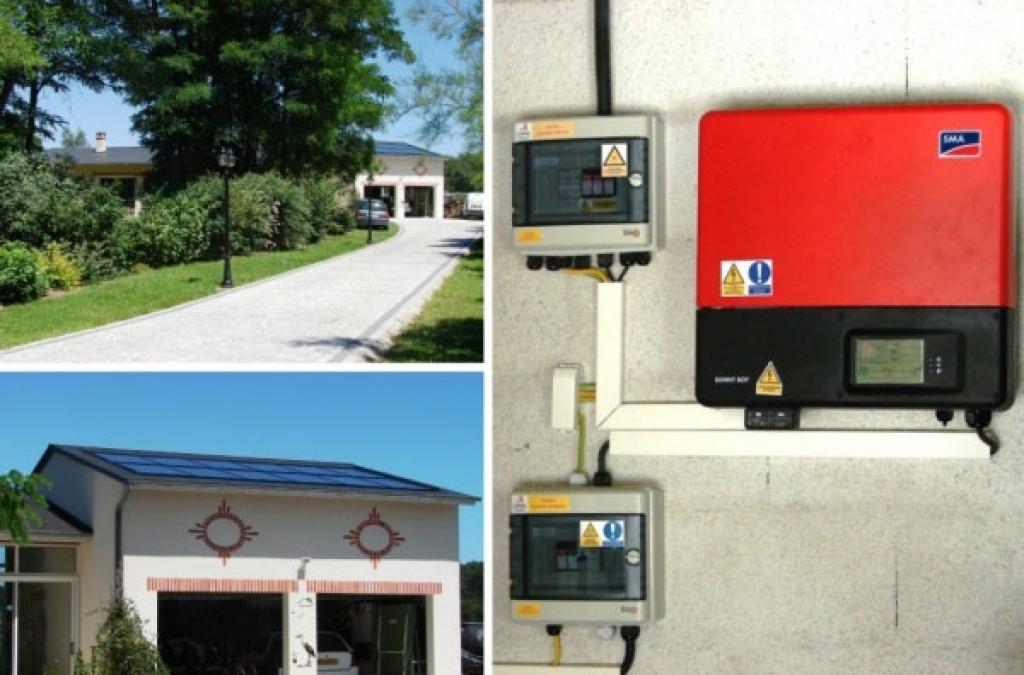 Photovoltaïque intégré à Mont-Près-Chambord - 41 Loir et Cher