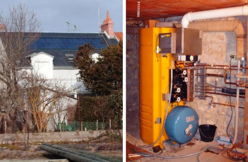 Chauffage solaire  CLIPSOL à Chateauroux, Indre (36)