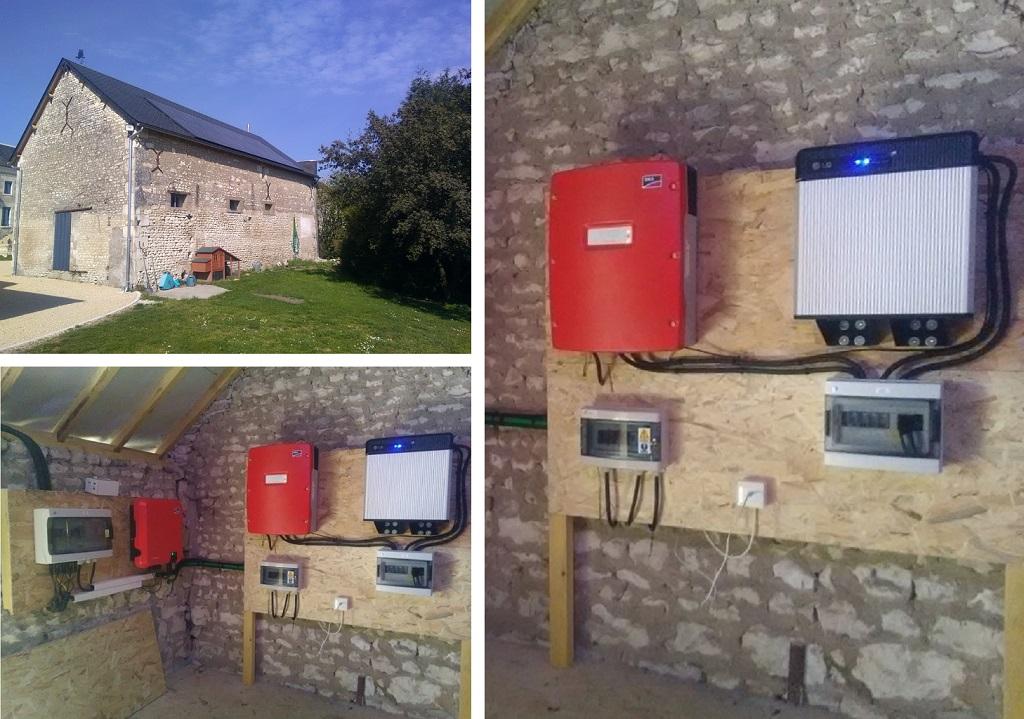 Installation panneaux solaire pour production photovoltaïque avec stockage - ETS HELIOSOLIS