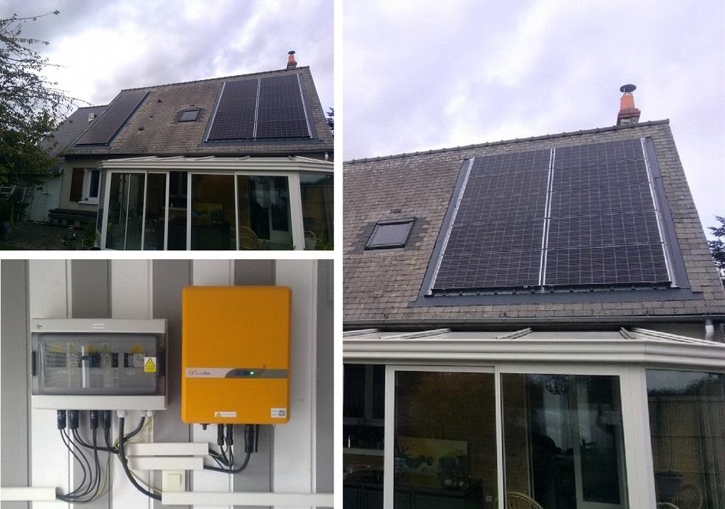 Installation d'un générateur photovoltaïque intégré - ETS HELIOSOLIS