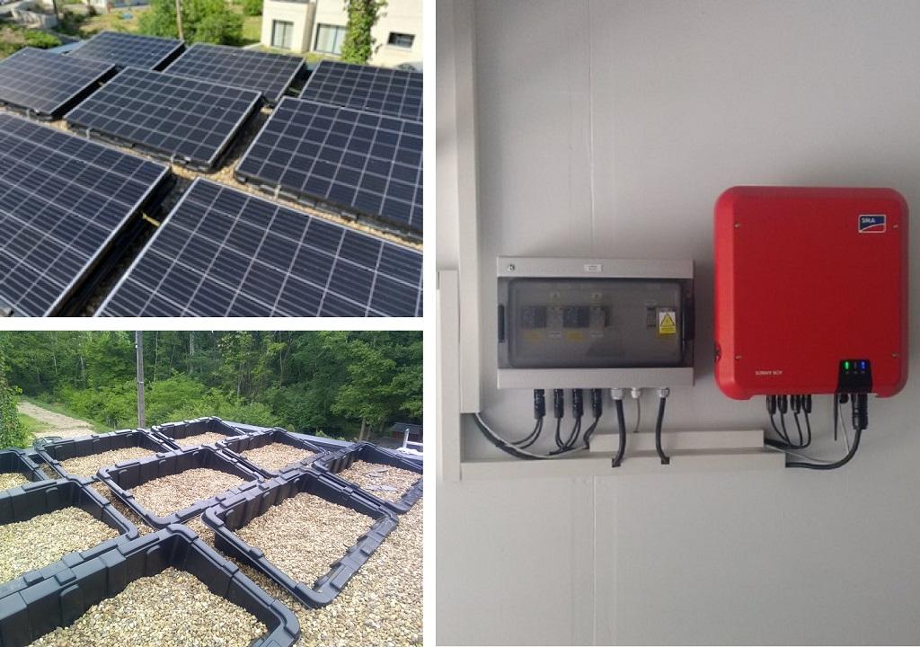 Installation photovoltaïque en autoconsommation - ETS HELIOSOLIS