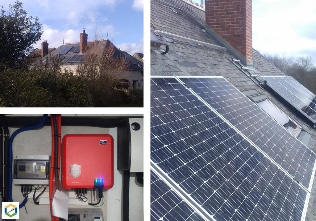 Installation de panneaux solaires photovoltaïques en autoconsommation