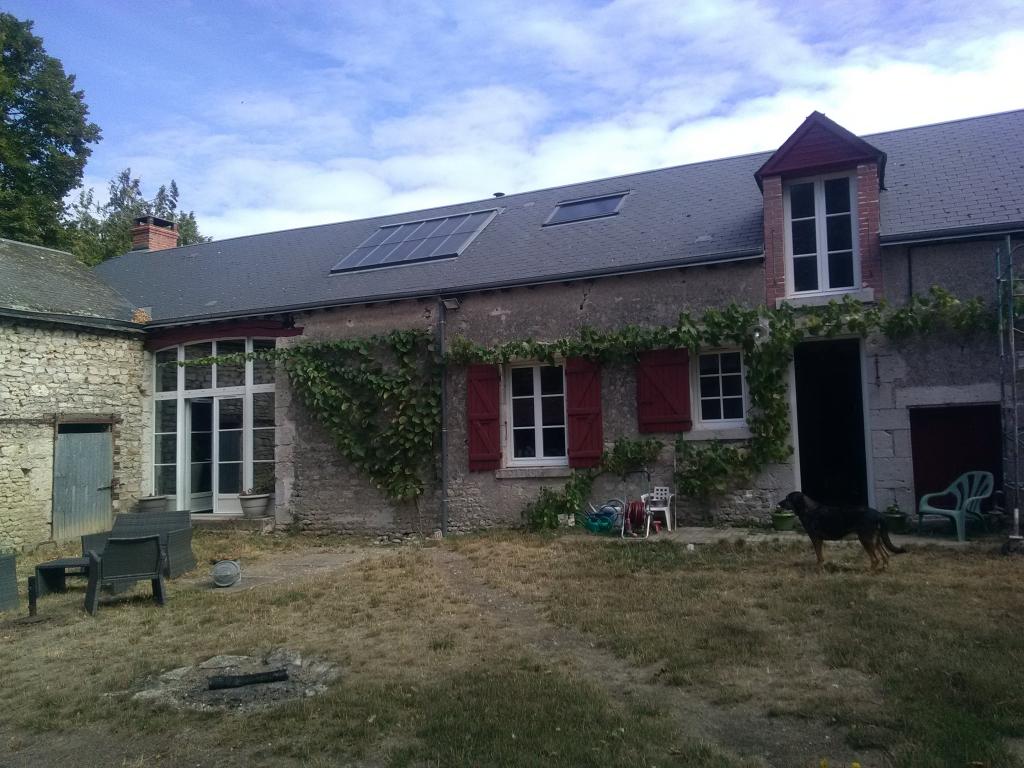 ETS HELIOSOLIS - poêle à granulés hydro avec appoint solaire-Loiret (45)