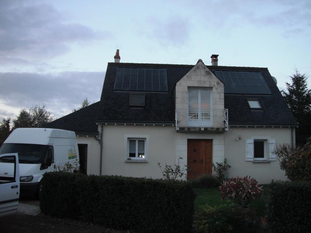 Chauffage solaire SOLISART à Amboise, Indre et Loire (37)-Indre et Loire (37)