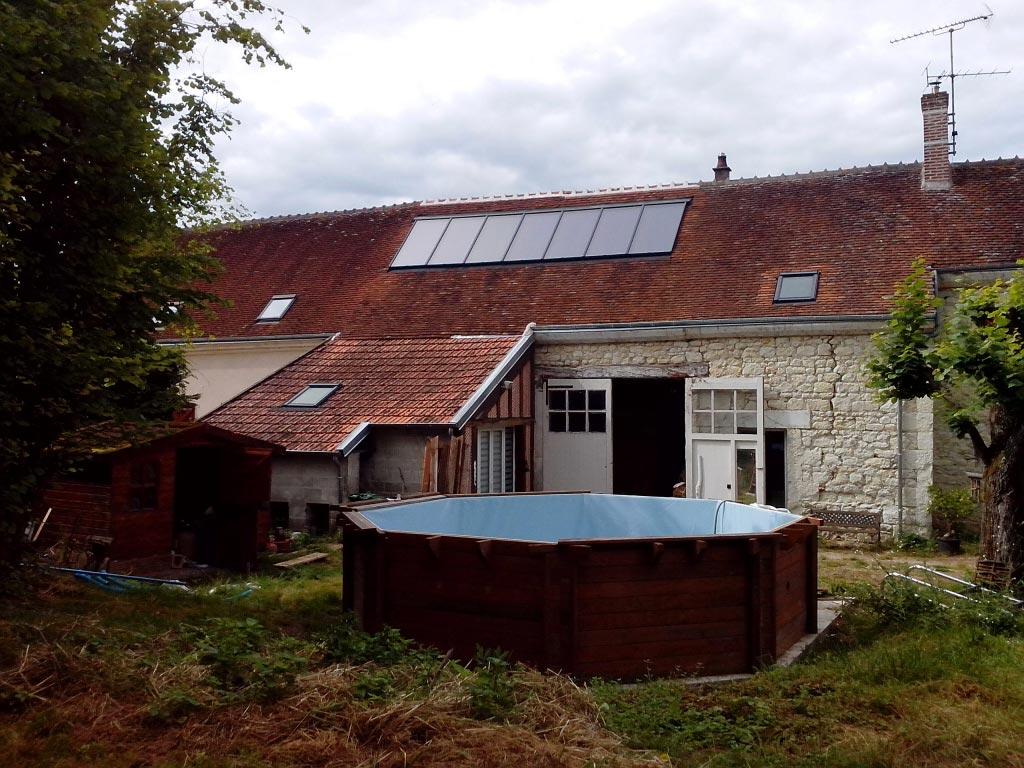 Chauffage solaire GASOKOL à Seigy, Loir et Cher (41)-Loir et Cher (41)