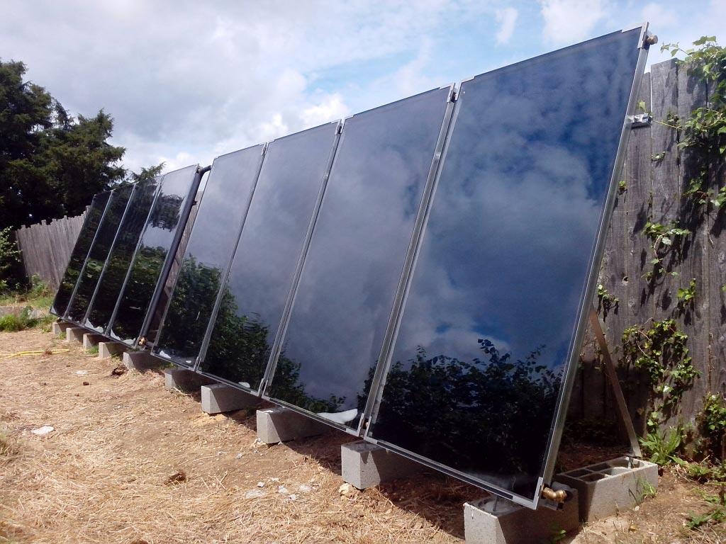 ETS HELIOSOLIS - Chauffage solaire combiné SOLISART et poêle hydro à Vouvray, Indre et Loire (37)-Indre et Loire (37)
