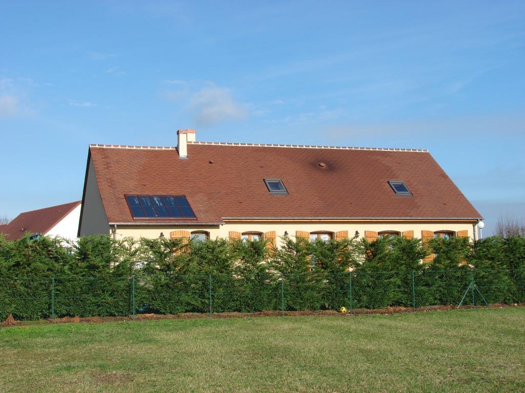 Chauffe eau solaire Clipsol à Onzain - 41 Loir et Cher