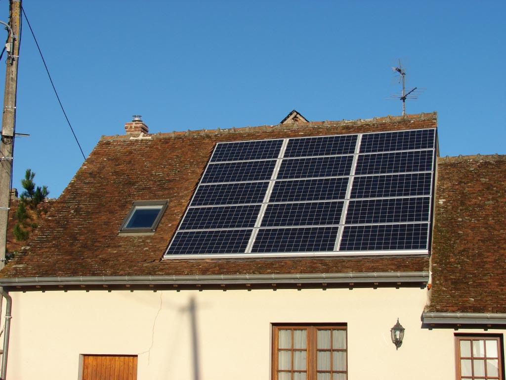 Production Photovoltaïque à Monteaux - 41 Loir et Cher