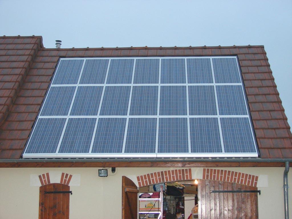 Production Photovoltaïque à Reuilly - 36 Indre-Indre (36)