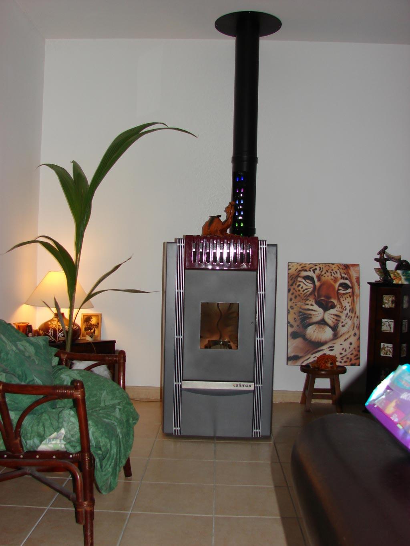 Poêle à granulés de bois CALIMAX à Ouchamps, Loir et Cher (41)-Loir et Cher (41)
