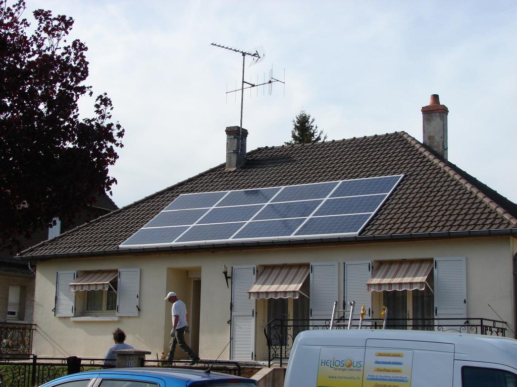 Production Photovoltaïque à Oucques - 41 Loir et Cher-Loir et Cher (41)