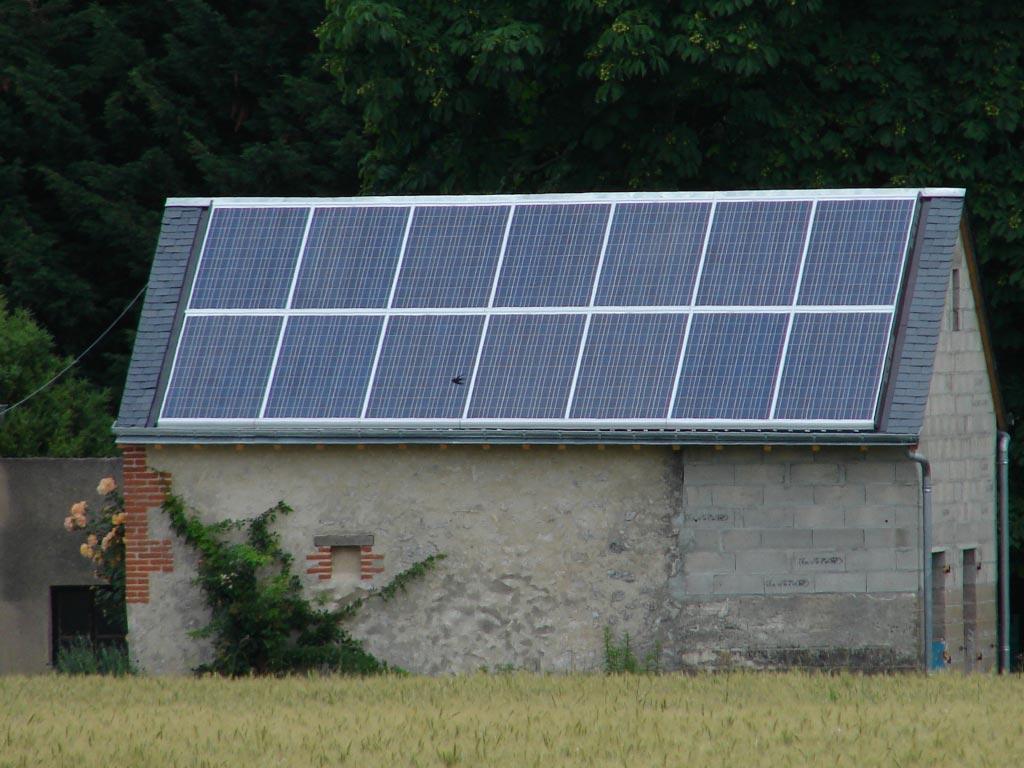 Photovoltaïque à Chitenay - 41 Loir et Cher-Loir et Cher (41)