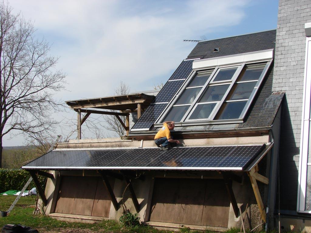 Production Photovoltaïque à Candé sur Beuvron,  41 (Loir et Cher)-Loir et Cher (41)