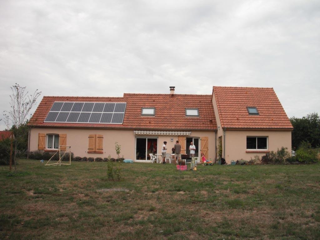 Photovoltaïque à St Julien sur Cher - 41 Loir et Cher-Loir et Cher (41)