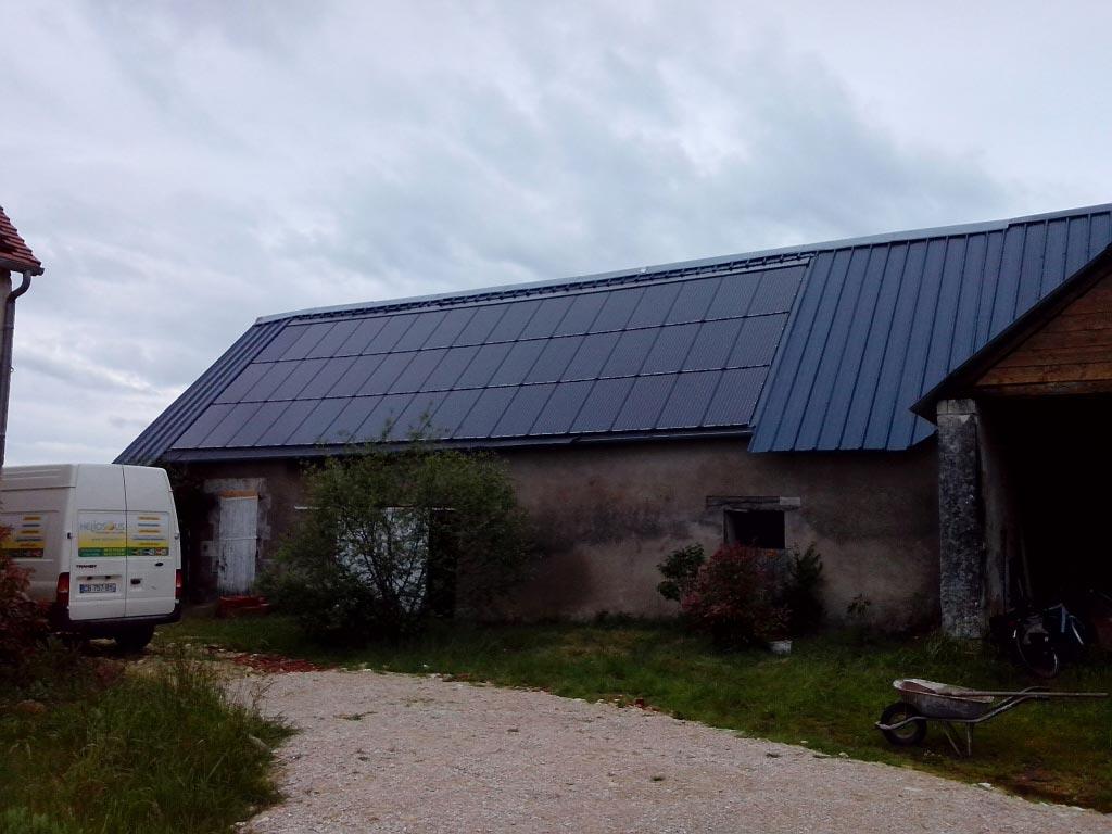 Remise en état d'une installation photovoltaïque à Betz le Chateau 37 indre et Loire-Indre et Loire (37)