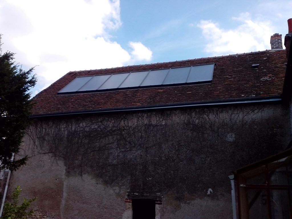 ETS HELIOSOLIS - Chauffage solaire combiné GASOKOL à Onzain, Loir et Cher (41)-Loir et Cher (41)