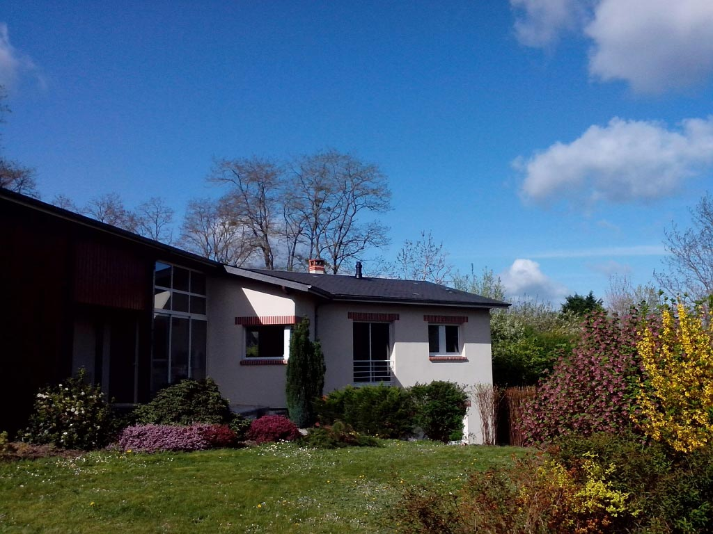 Poêle à bois RIKA  pour maison passive - Mont près Chambord (41)