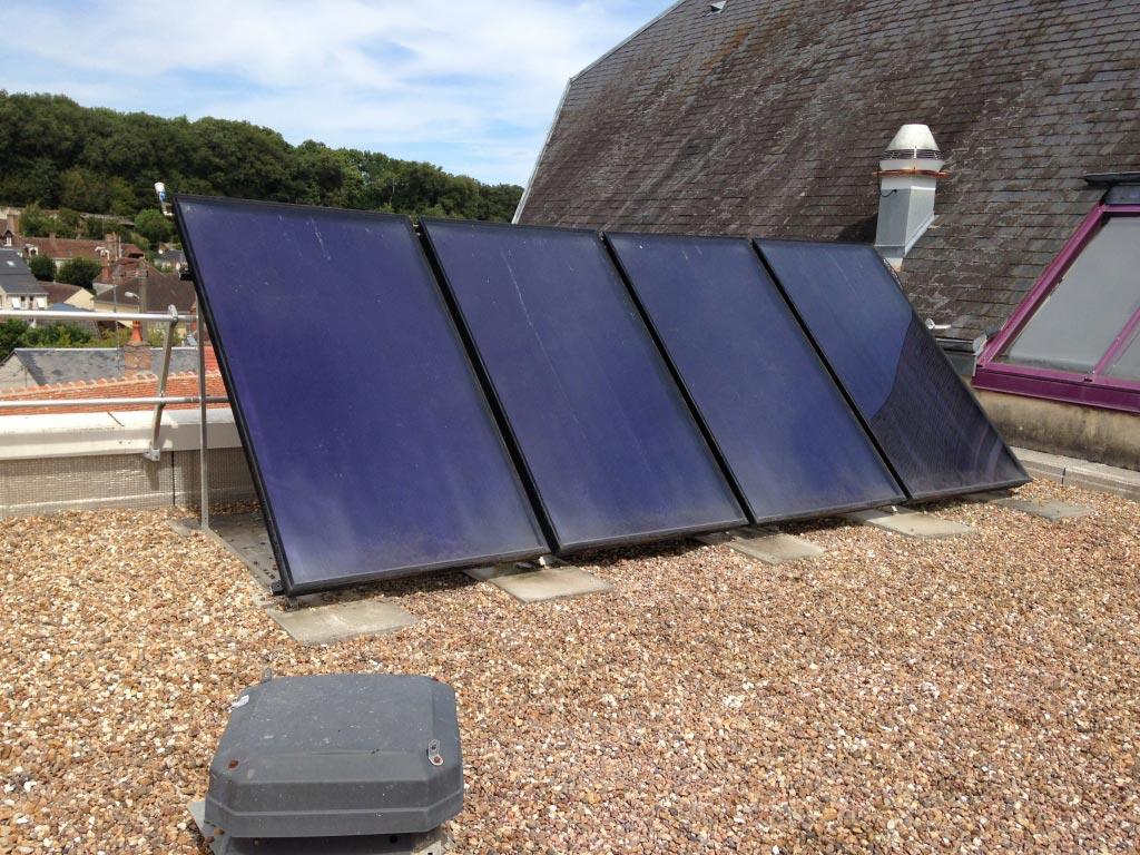 Intervention sur chauffe-eau solaire défectueux à Saint-Aignan sur Cher (41) Loir et Cher