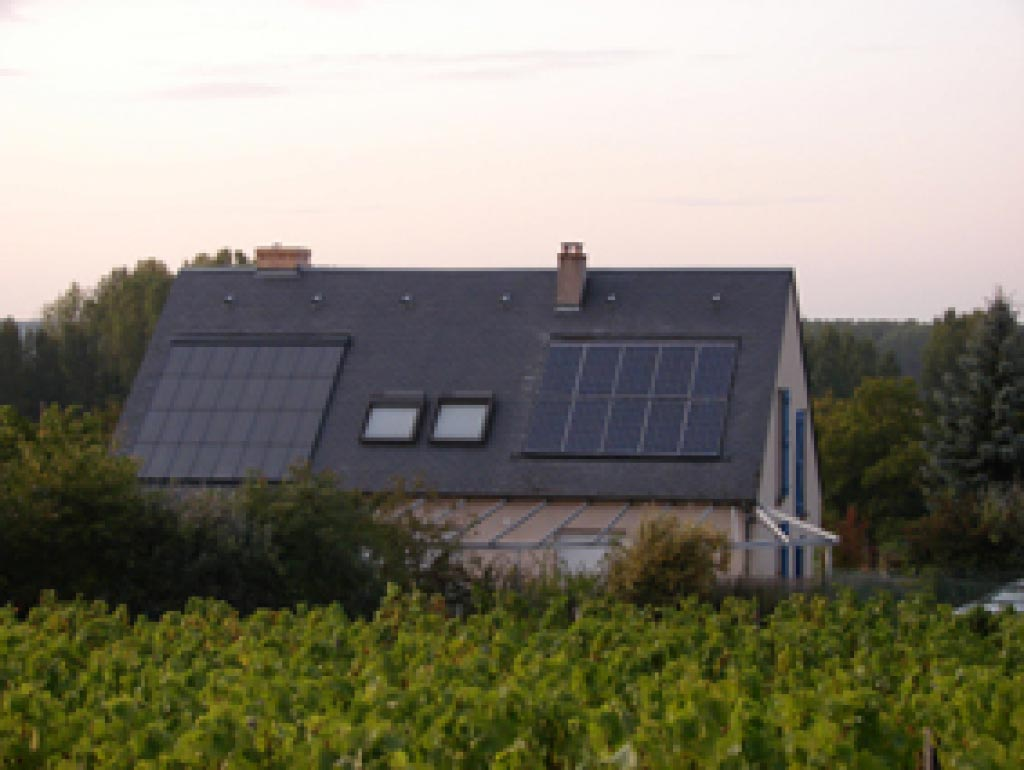 Chauffage Solaire et Générateur photovoltaïque à Cande s/ Beuvron,  Loir et Cher (41)-Loir et Cher (41)