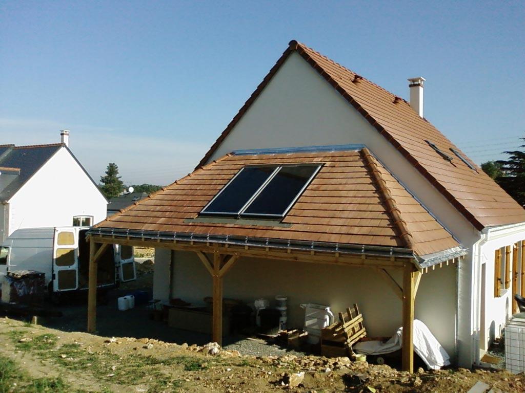Eau chaude solaire à Montbazon - 37 Indre et Loire-Indre et Loire (37)