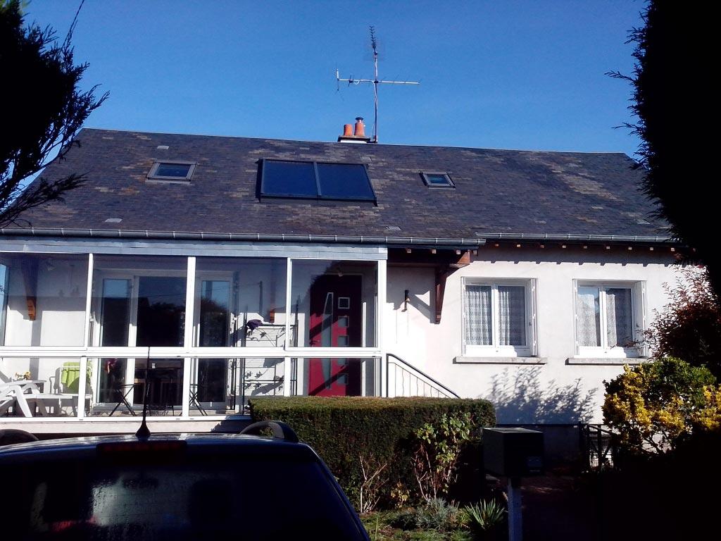 Chauffe-eau solaire GASOKOL à Saint-Gervais la Forêt, Loir et Cher (41)-Loir et Cher (41)