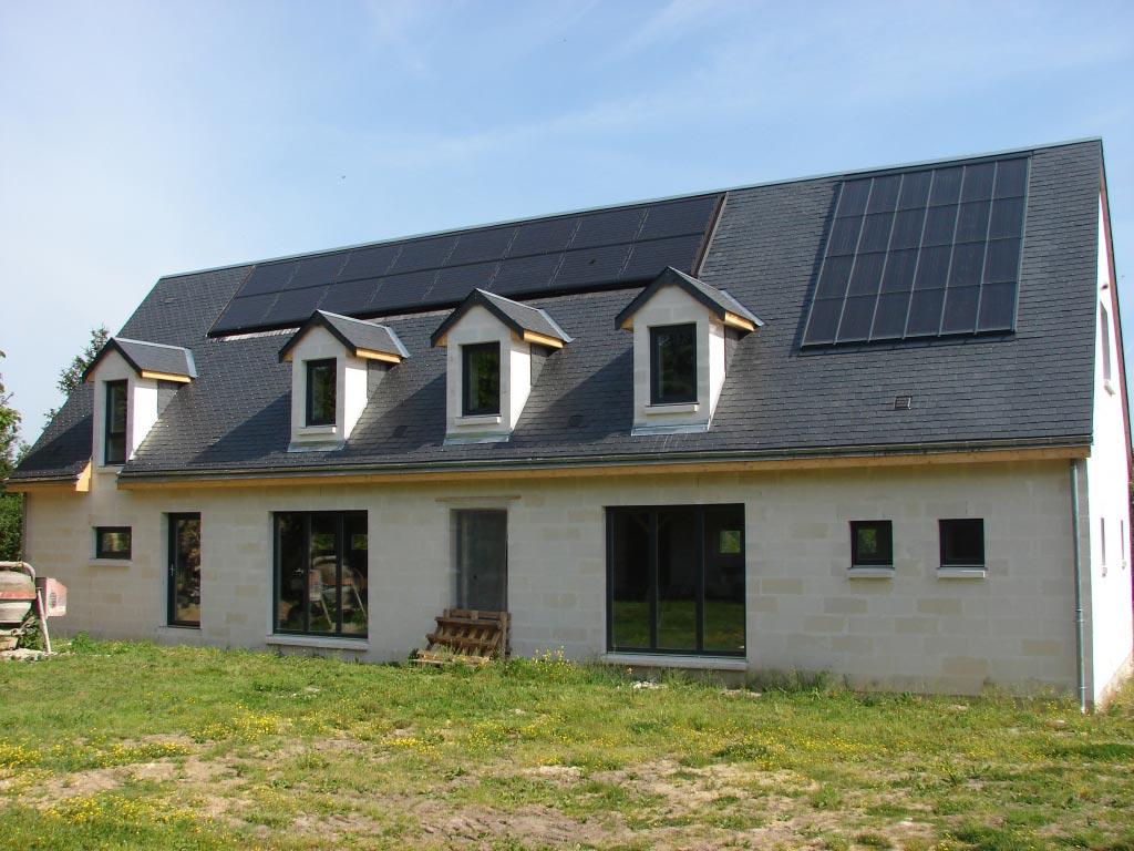 Electricité Photovoltaïque au Petit Pressigny, Indre et Loire (37)