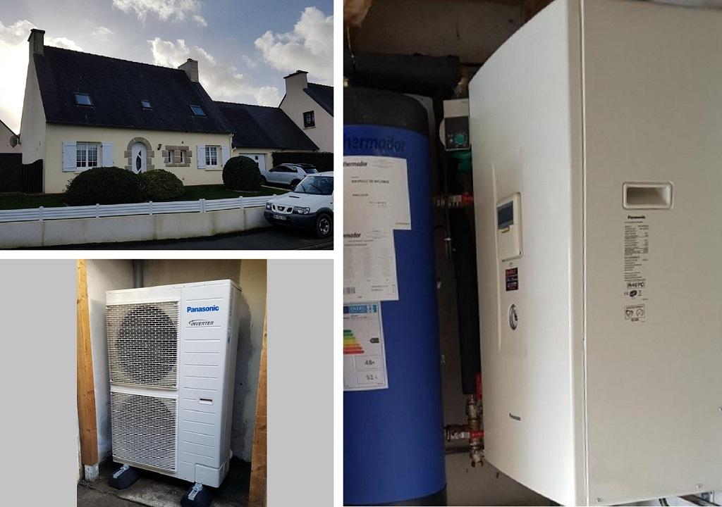 Pompe à chaleur Panasonic Finistère