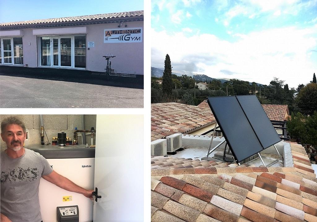 Artisan solaire installateur chauffe eau solaire individuel (CESI) Daikin Rotex à Peymeinade 06 Alpes-Maritimes-Alpes Maritimes (06)