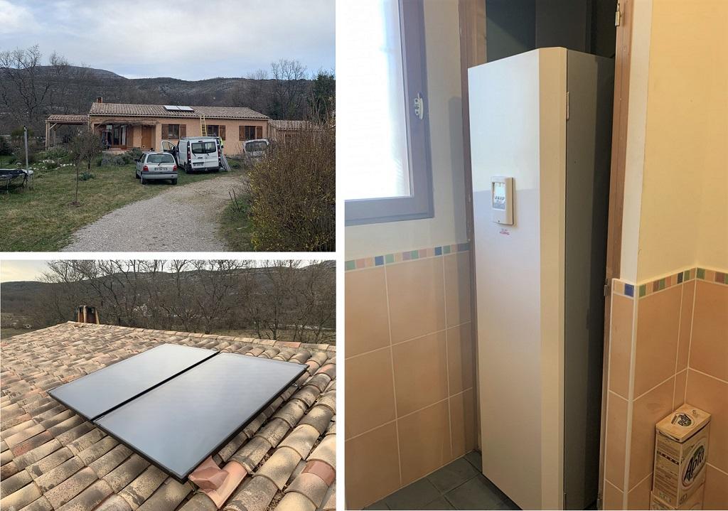 RGE solaire pose d'un chauffe eau solaire individuel CESI auto-vidangeable dans les Alpes-Maritimes 06-Alpes Maritimes (06)