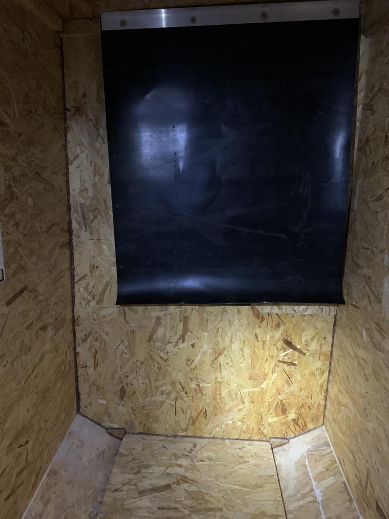 Construction sur mesures d'un silo pour granulés de bois